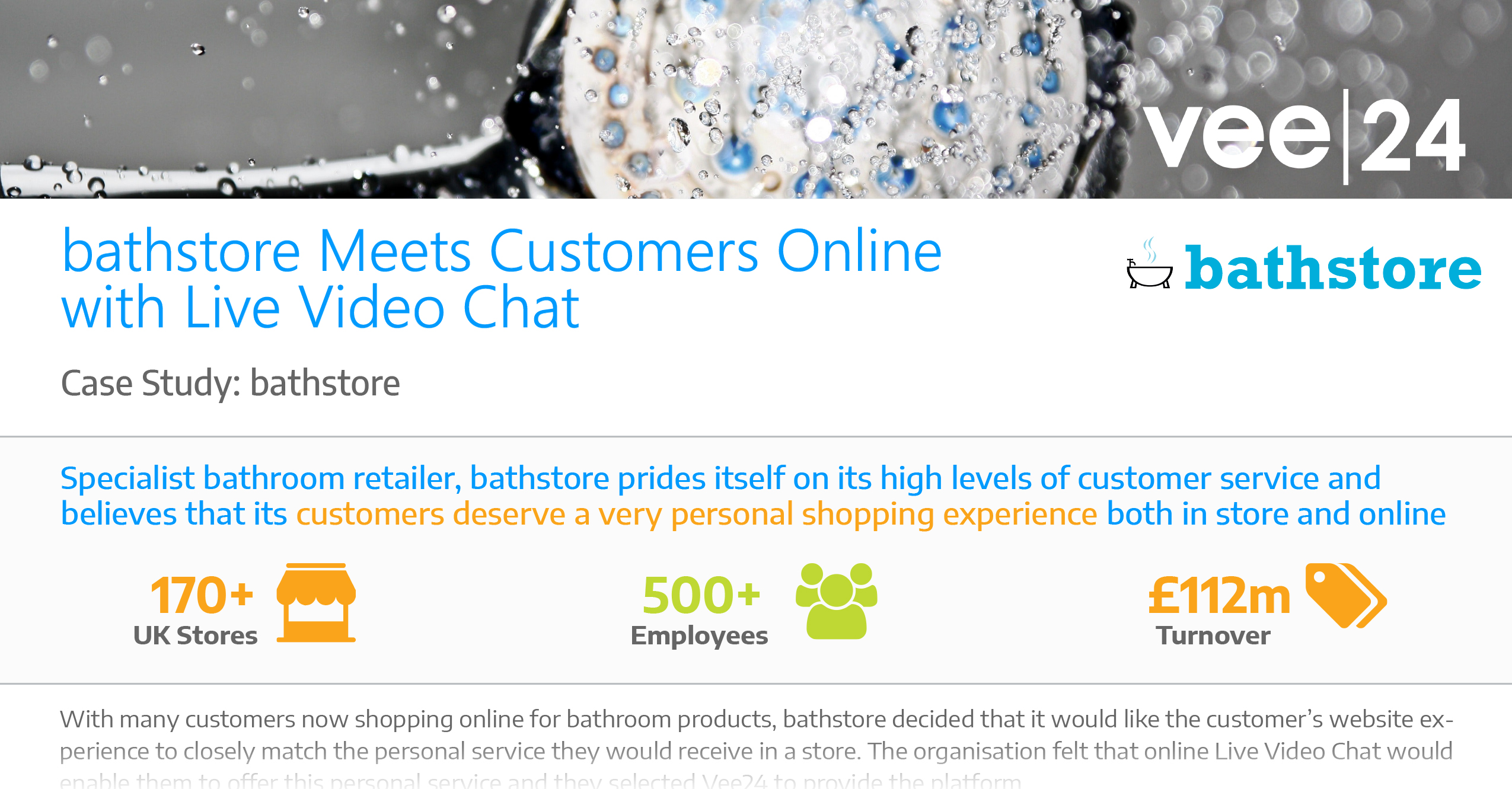 bathstore Case Study Live Video Chat