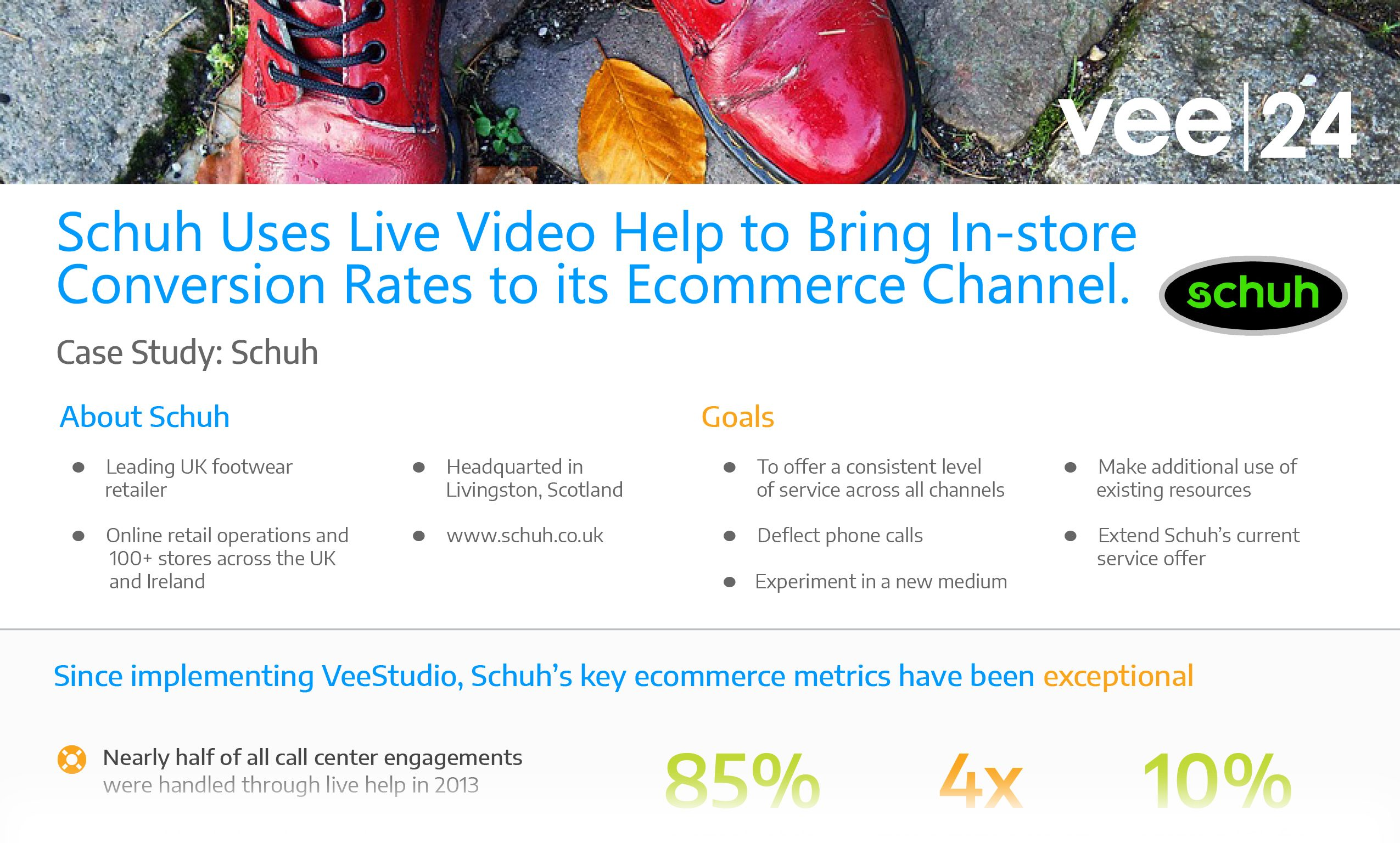 schuh case study live video chat