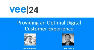 cover slide providing an optimal digital customer experience